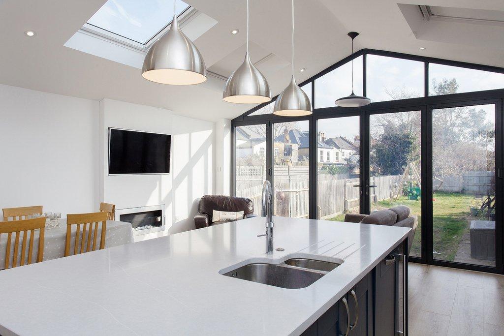 Pitched Extension loft_kitchen