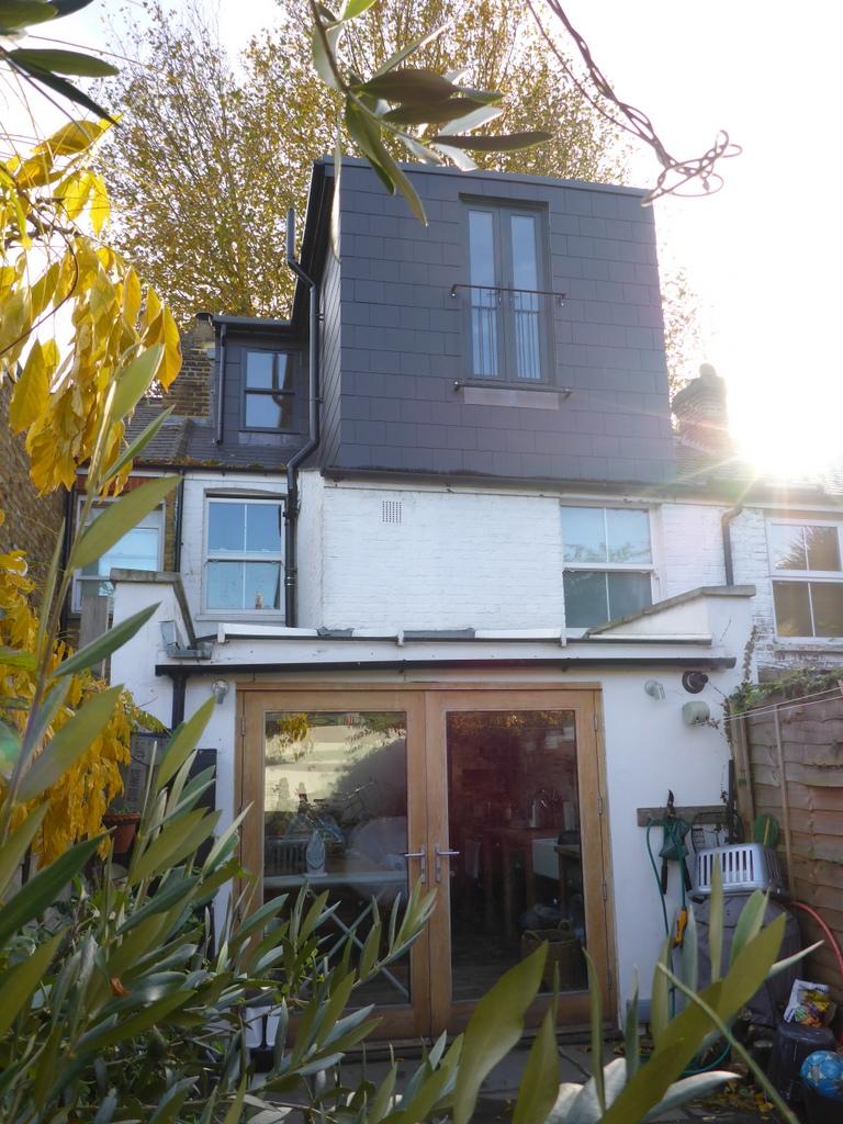 mortlake - rear house extension