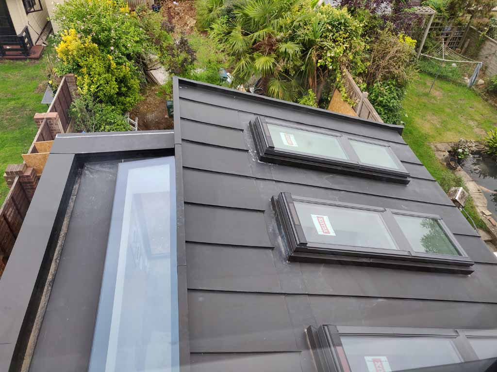 Buckingham_zinc roof